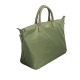 SOLD OUT - KHAKI OVERNIGHT BAG GOLD