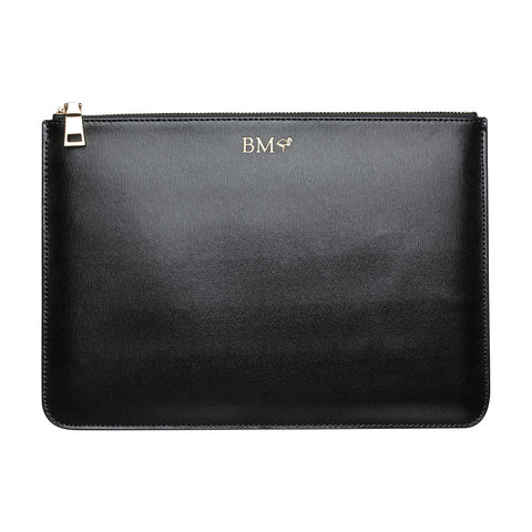 IPAD POUCH - BLACK SILVER