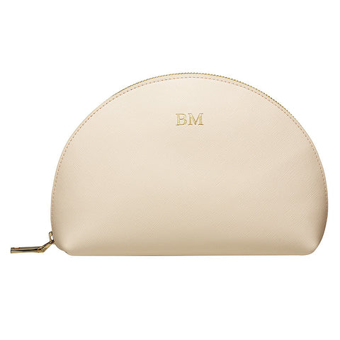 PALE PINK LARGE ARCH COSMETIC CASE
