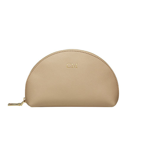 TAUPE MEDIUM ARCH COSMETIC CASE