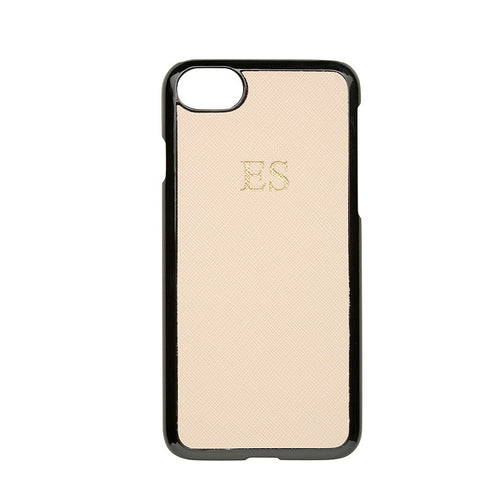 PALE PINK SAFFIANO IPHONE COVER 6, 6S & 7