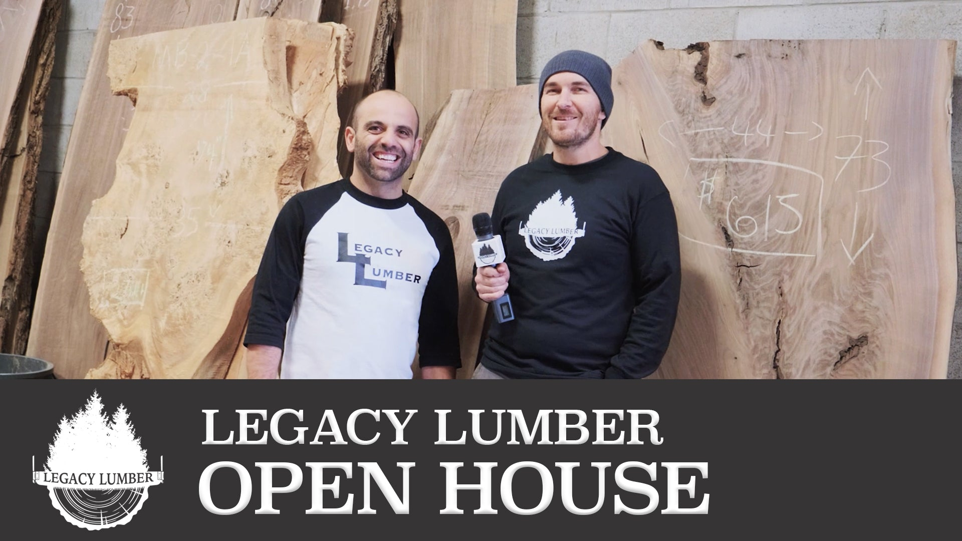 We've just launched Legacy Lumber's Youtube channel!