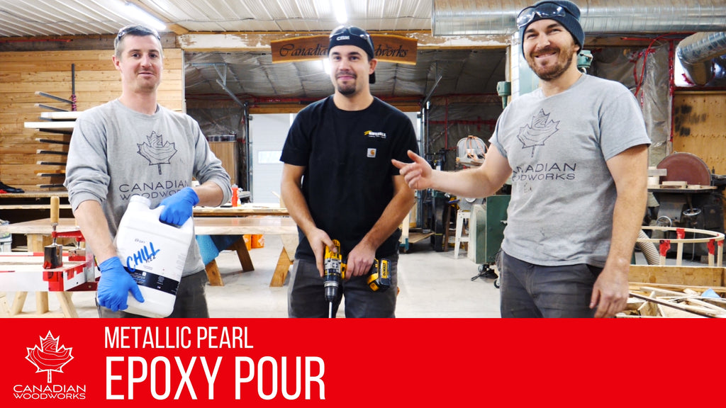 Metallic Pearl Epoxy Pour Video