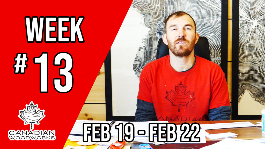 Weekly Re-cap video #13 Toronto Woodworking Show 2019!