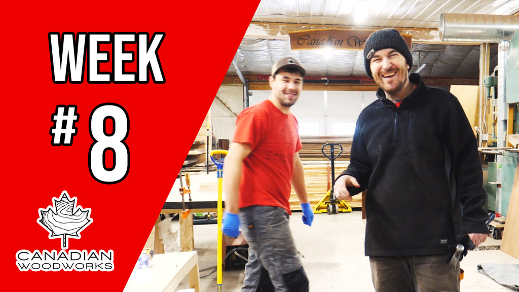 Weekly Re-cap video #8 & SHOP TOUR!