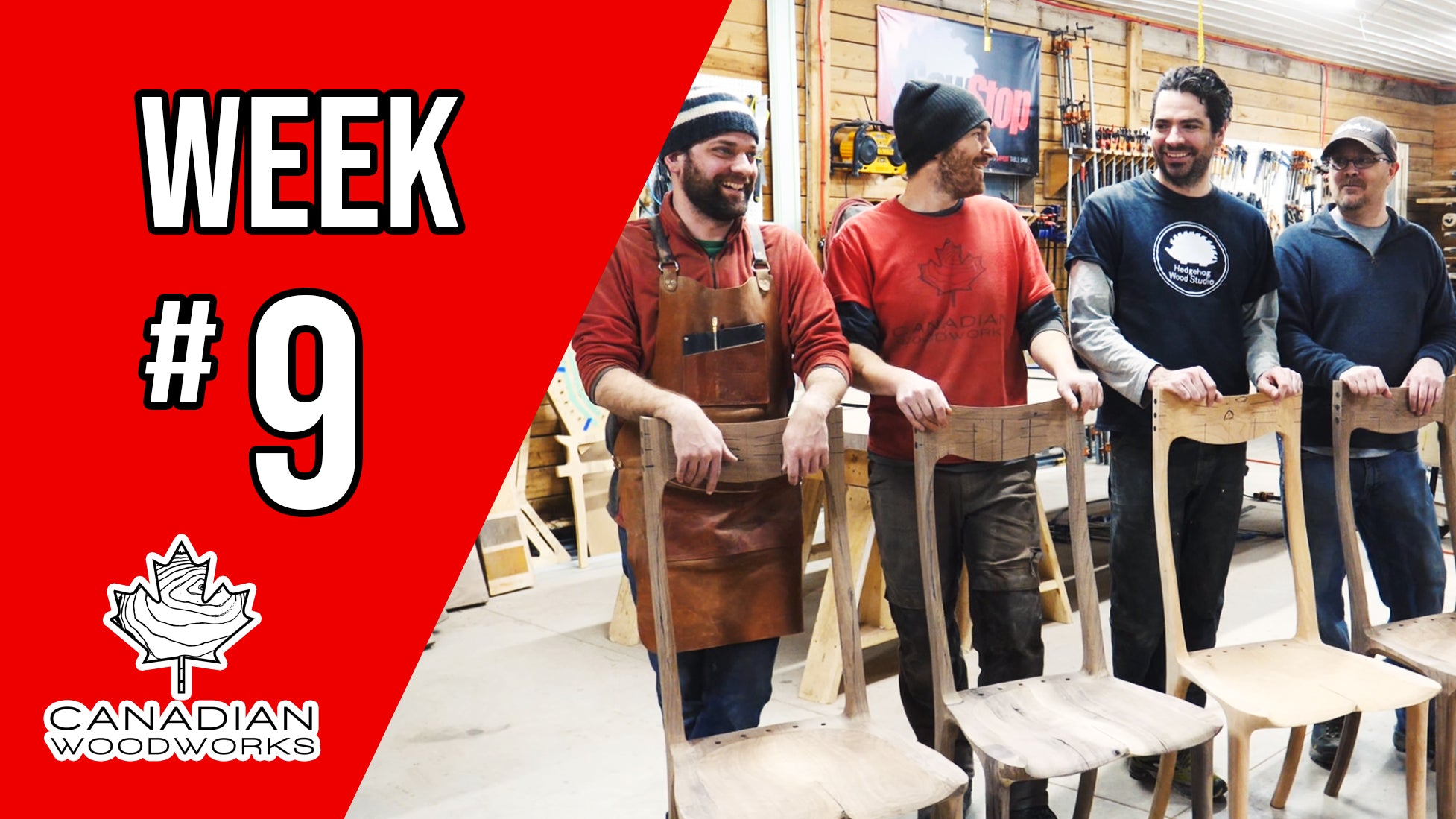 Weekly Re-cap video #9 & running our Moulding Machine!