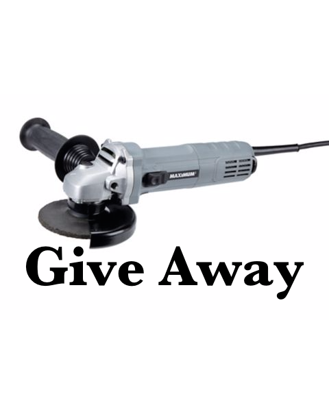Maximum Angle Grinder - GIVEAWAY