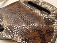 karung snake skin knife sheath