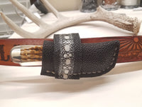 Stingray skin side draw sheath