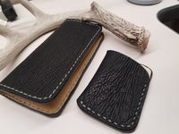 Shark Skin Long Wallet Combo