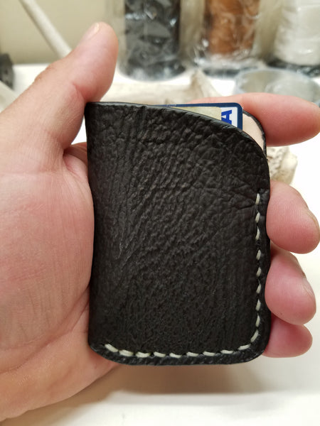 Shark Skin Minimalist Front Pocket Wallet