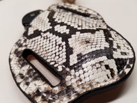 Python Snake Skin Large Sheath