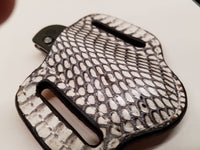 Cobra Snake Skin Small Sheath