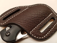 Shark Skin Large Sheath-Brown