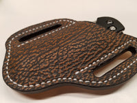 Shark Skin Large Knife Sheath-Safari Tan
