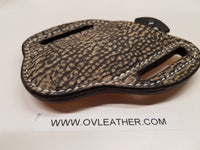 Giraffe Skin Large Knife Sheath