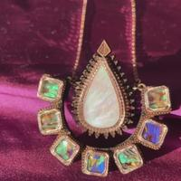 Load image into Gallery viewer, Anisha Parmar DIYA NECKLACE