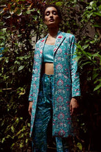 Load image into Gallery viewer, Raat Rani Silk Blazer