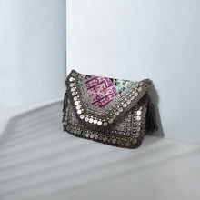 Load image into Gallery viewer, Banjara Clutch Neutrals