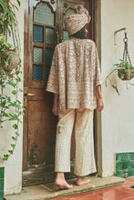 Load image into Gallery viewer, Mirrors of Jaipur Short Kimono