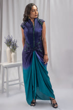 Load image into Gallery viewer, Agami by Neha Agarwal Multi Colored Gown