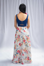 Load image into Gallery viewer, Harleen Kaur Floral Colored Lehenga
