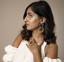 Load image into Gallery viewer, Anisha parmar CHAND DROP EARRINGS