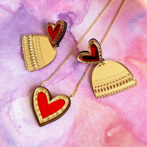 Anisha Parmar LIMITED EDITION HEART NECKLACE