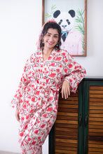 Load image into Gallery viewer, Jodi Cherry Blossom Robe