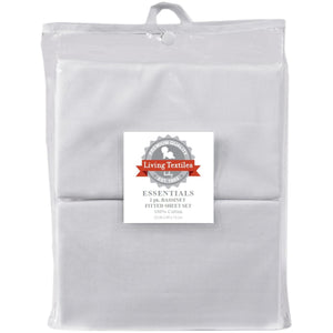 Living Textiles 2 Pack Bassinet Fitted Sheet - Molly's Baby Room