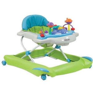 STEELCRAFT JETTA BABY WALKER SPRING GREEN - Molly's Baby Room