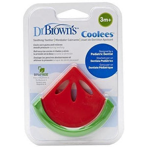"Dr Brown's Soothing Teether ""Coolees"" (Watermelon) - Molly's Baby Room"