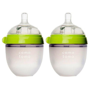 Comotomo Natural Feel Baby Bottle Twin Pack 150Ml - Molly's Baby Room