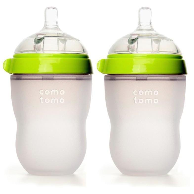 Comotomo Natural Feel Baby Bottle Twin Pack 250Ml