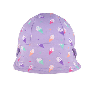 Bedhead Girls Legionnaire Hat 'Ice Cream' Print