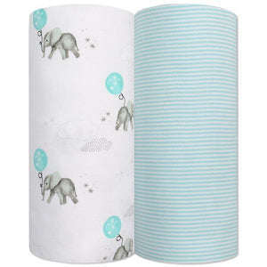 Living Textiles 2-Pack Jersey Wraps - Molly's Baby Room
