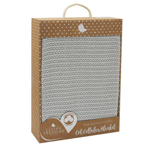 Living Textiles Organic Cot Cellular Blanket - Molly's Baby Room