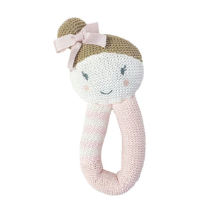 Amy the Mermaid Knitted Rattle