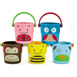Skip Hop Explore & More Zoo Stack & Pour Buckets - Molly's Baby Room
