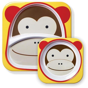 Skip Hop Zoo Tableware Melamine Set - Molly's Baby Room