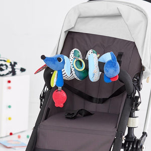 Skip Hop Vibrant Village Musical Spiral Stroller Bar Toy - Molly's Baby Room