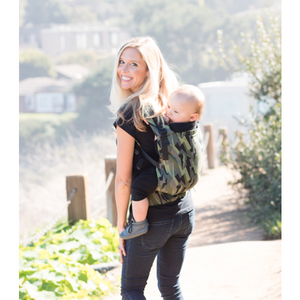 Tula Free-To-Grow Baby Carrier Black Lightening - Ju-Ju-Be - Molly's Baby Room