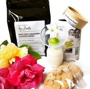 Milk & Cookies By Jewels White Chocolate & Macadamia Lactation Cookies