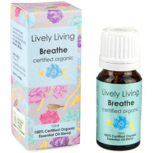 Lively Living-100% Certified Organic Essential Oil Blend - Molly's Baby Room