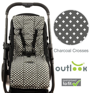 Outlook Cotton+Cotton Pram Liner - Molly's Baby Room