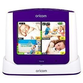 "Oricom Secure870 3.5"" Touchscreen Monitor with Starry Lightshow"