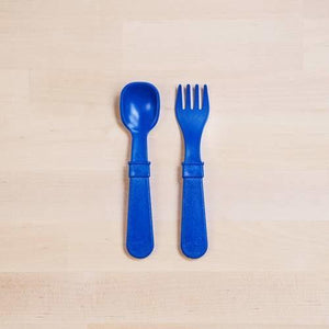 Re-Play Fork and Spoon Set - Molly's Baby Room