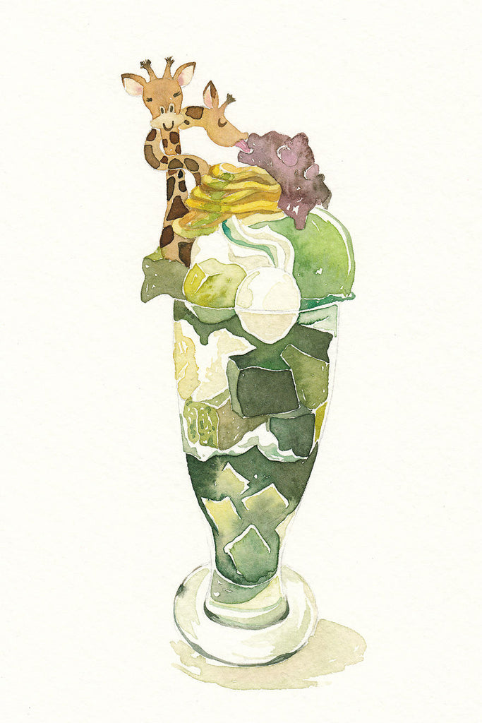 Giraffe Green Tea Parfait