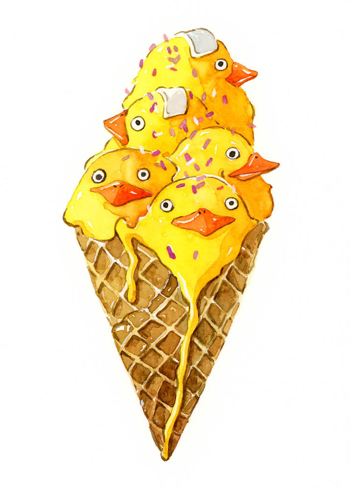 Chicken Spirit Ice Cream