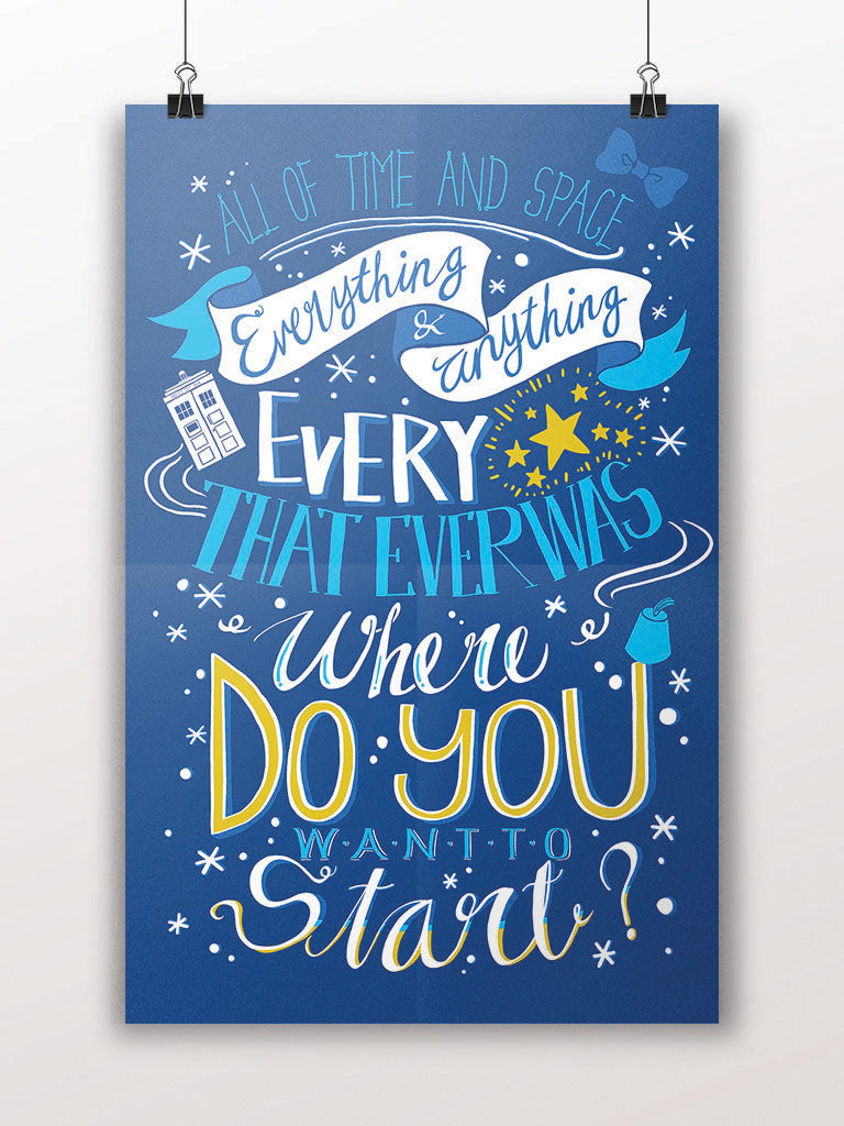 Everything and Anything Happens Quote